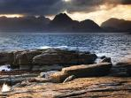 The Cuillin Mountain Range is a world class mountaineering and hiking destination