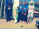 Surf Group at CostazulSurf School - Vieirinha Beach