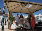 wedding in  our  villas