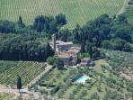 Vacation villa in Chianti Castellare de Sernigi