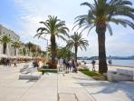 The promenade 'Riva'