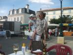 St. Jean D'Angely market