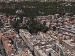 It is possible to reach in a five minutes walk Villa Borghese.