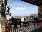 Big terrace with veranda at the 1st floor