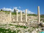 The nearby ancient city of Amathus - 5 mins away