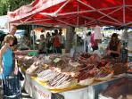 Riberac Market - Enjoy the seasonal local produce