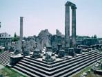 Temple of Apollo is 2 miles away