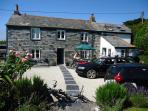A beautifully renovated 18th C slate fronted Cornish Cobb Cottage