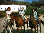 Horseriding in Galaroza
