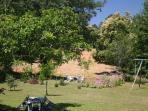 Grand jardin de 2000 m2
