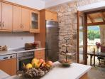 Villa Loukas Kitchen Area