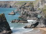 Bedruthan Steps. Top 10 photo destination in the UK. 20 minute drive.