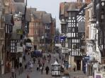 THE ROMAN CITY OF CHESTER, GREAT SHOPPING, ZOO, NATIONAL RACE COURSE AND MUCH MORE.