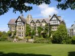BODNANT GARDENS,WITH EXOTIC PLANTS SPEND TIME STROLLING AROUND WELL PRESENTED GARDENS