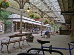 Award winning historic train station.....with 'pop-up' cider bar on Friday nights!