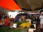 Market at Mahebourg