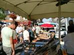 St Hilaire Market