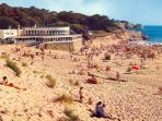 Miles of safe, sandy beaches