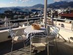 View from the balcony-Vue de la terrasse