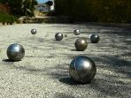 Boules - all very French!!!