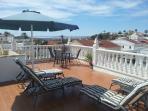 Large roof terrace - a sunworshippers heaven