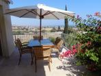 Upper lounge terrace