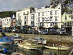 The Boat Float and Royal Castle Hotel, Dartmouth