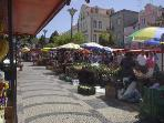 Caldas da Rainha market every morning.