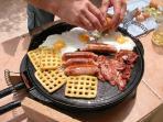 Big Breakfast on the Plancha
