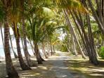 From 'Villa Beach' Walk Along The Beach To ....