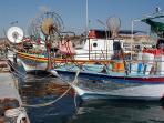 Fishing boats in the Marina