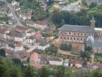 Moyenmoutier with the Abbey