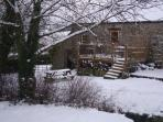 Cottage Garden at Xmas