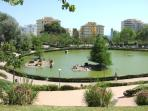 La Paloma park,3 minutes walk from the complex
