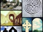 Celtic crosses and lots of castles to be found everywhere!
