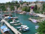 Visit Antalya for sightseeing and shopping