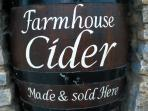 authentically made cider