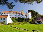 Caldey island, just off Tenby