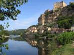 Canoeing down the Dordogne river past the fantastic villages such as Beynac is a must.
