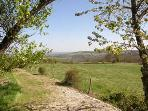 18 acres of pasture and woodland