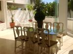 Lovely garden room with dining area