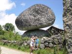 Caramulo Mountains - unusual granite rock formations.