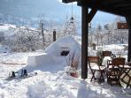 Chalet Casa Mia in winter