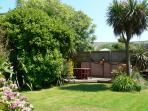 Summer Breeze's private rear garden