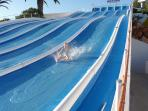 Fun at Slide & Splash Water Park only 15 mins away