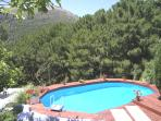Casa Luc - pool and view