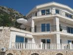 Villa Gemma  Lycia is built in natural stone for beauty and to keep cool,  sun reflecting windows