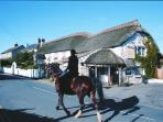 Croyde Village - a five minute walk away