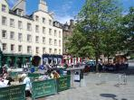 The Grassmarket on your doorstep