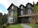 Kirkbeck House - Front entrace